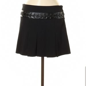 BCBG Black Mini Skirt Size 8